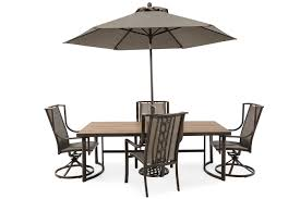 Mathis Brothers Patio Furniture by Agio Portland Rectangular Dining Table Mathis Brothers Furniture