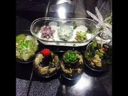diy succulent and cactus terrarium room decor ideas youtube