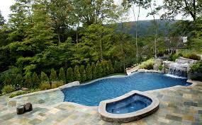 Inground Pool Landscaping Ideas Inground Swimming Pool Landscaping Modern Home Exteriors Backyard