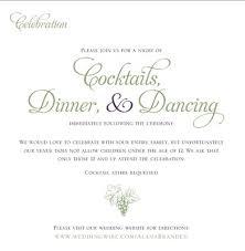 adults only wedding invitation wording wedding invitation wording no children amulette jewelry