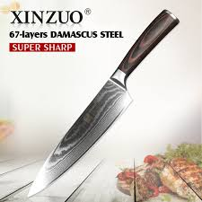 images of kitchen knives xinzuo 8 inches chef knife 67 layer damascus kitchen knife high