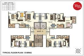 World Floor Plans Kanakia Zen World At Kanjurmarg Mumbai Reviews Price