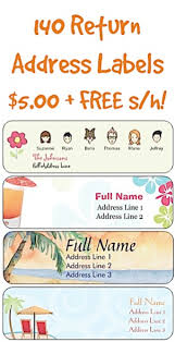 140 return address labels for 5 00 free shipping use them as