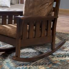 Mission Style Rocking Chair Craftsman U0026 Mission Style Indoor Rocking Chairs Hayneedle