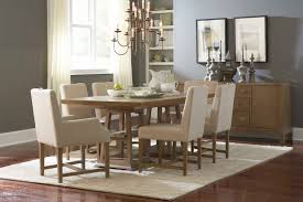broyhill hampton double pedestal table set