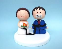 Funny Wedding Cake Toppers Custom Wedding Cake Topper Military Wedding Cake By Julstoppers