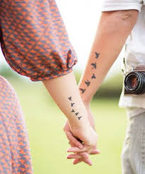 21 cute couple tattoos matching tattoo ideas