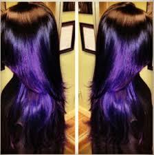 black hairstyles purple black with purple shine i love this purple hair pinterest