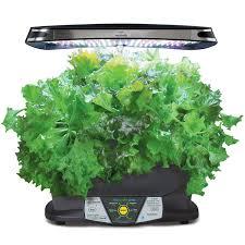 miracle gro aerogarden extra led indoor garden with gourmet herb