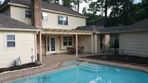simple pool patio u2013 deskins roofing and siding