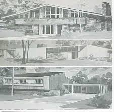Homes MID CENTURY Modern House Plans Ranch Atomic Mod - Mid century modern home design plans