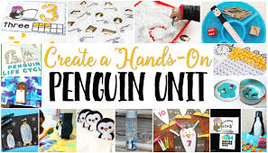 free penguin theme printables for learning life over cs