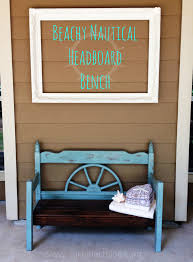 nautical headboard curb alert nautical headboard bench makeover