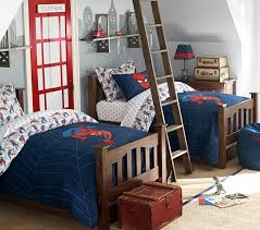 spider man quilt pottery barn kids