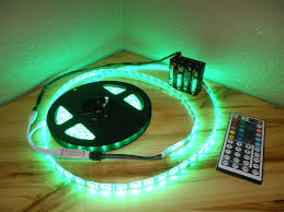 battery powered led lights outdoor led light strips green awesome house lighting special led light