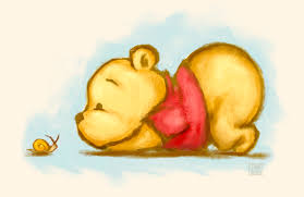 winnie the pooh winnie the pooh baby pooh print the of leanne huynh