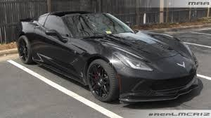 chevrolet corvette c7 stingray blacked out chevy corvette c7 stingray