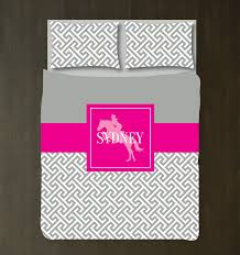 girls bedding horses custom equestrian bedding for girls with preppy cross u2013 shop
