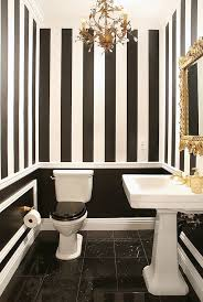 small black and white bathroom ideas bathroom striped walls white bathrooms bathroom ideas gold small