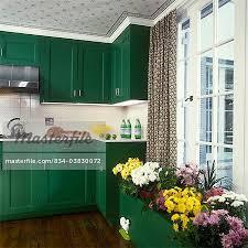 dark green kitchen cabinets kitchen detail counter window seat bright dark green indoors