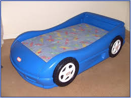 Blue Car Bed Posted Under Beds Toddler Beds Toddler Car Bed Decorating