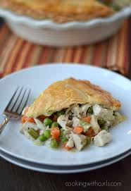 turkey pot pie cooking with curls