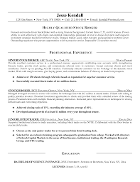 Trade Resume Examples Quantitative Trader Cover Letter