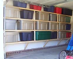 Wood Storage Shelves Plans by Best 25 Overhead Garage Storage Ideas On Pinterest Diy Garage