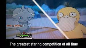 espurr and psyduck meme by the jigglypuff club on deviantart