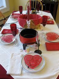 tablescape thursday valentine u0027s day fondue party no money