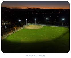 led ball field lighting qualite sports lighting s q led system is first led to light a