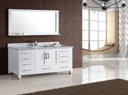 41 Bathroom Vanity Armada 60 White Single Sink Bathroom Vanity Home Decor Store