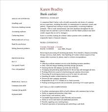 Bank Reconciliation Resume Sample by Cashier Resume Template U2013 11 Free Word Excel Pdf Psd Format