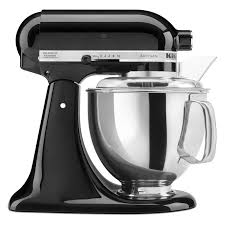 kitchen kitchenaid mixer walmart in black and silver for kitchen