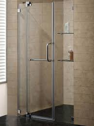 glass panel shower door 48