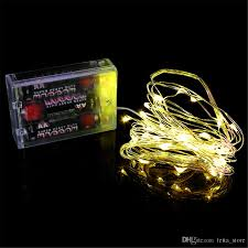 Battery Operated Light Strings by Cheap 4m 40led Warm Pure Whit Led String 3xaa Battery Operated