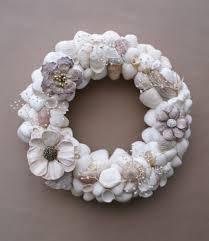 seashell wreath home decoration white seashell wreath ideas beautiful