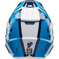 blue motocross helmet thor sector ricochet motocross helmet navy blue 2018 mxweiss