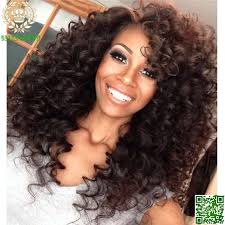 curl in front of hair pic brazilian virgin kinky curly full lace wig human hair glueless