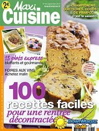 recette maxi cuisine maxi cuisine septembre 2013 no 82 pdf magazines