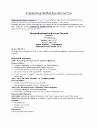templates for freshers resume mechanical engineering resume templates lovely resume sles for