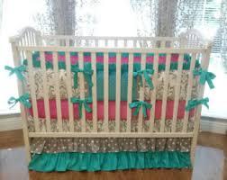 Canadian Crib Bedding Damask Crib Bedding Etsy