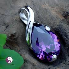 natural amethyst necklace images Natural crystal heal point chakra stone angle amethyst pendant jpg