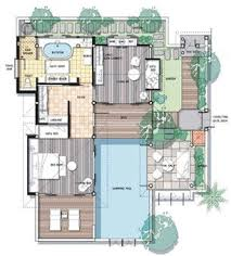 villa plans floor plan family pool villa floor plans family