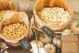 pie and popcorn stations for thanksgivingyou lu creating an