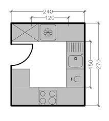plan pour cuisine plans cuisine maison 7 solutions pour une disposition en u