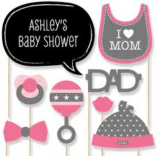 baby shower kits baby girl 20 photo booth props kit bigdotofhappiness
