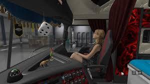 kenworth truck accessories dlc cabin accessories v2 0 for ats american truck simulator mod
