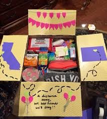 Care Packages For College Students Birthday Care Package Diy Care Package Ideas For College
