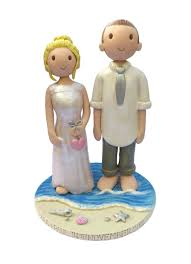 wedding cakes ideas cute wedding cake figurines topper on lovely